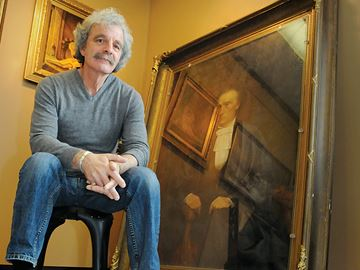 Restored Gowan painting to be unveiled this week at Barrie City Hall