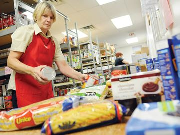 Whitby food bank