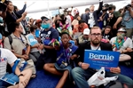 Grumbling about protesters at Dem convention-Image1