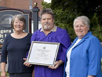 A graduate at last