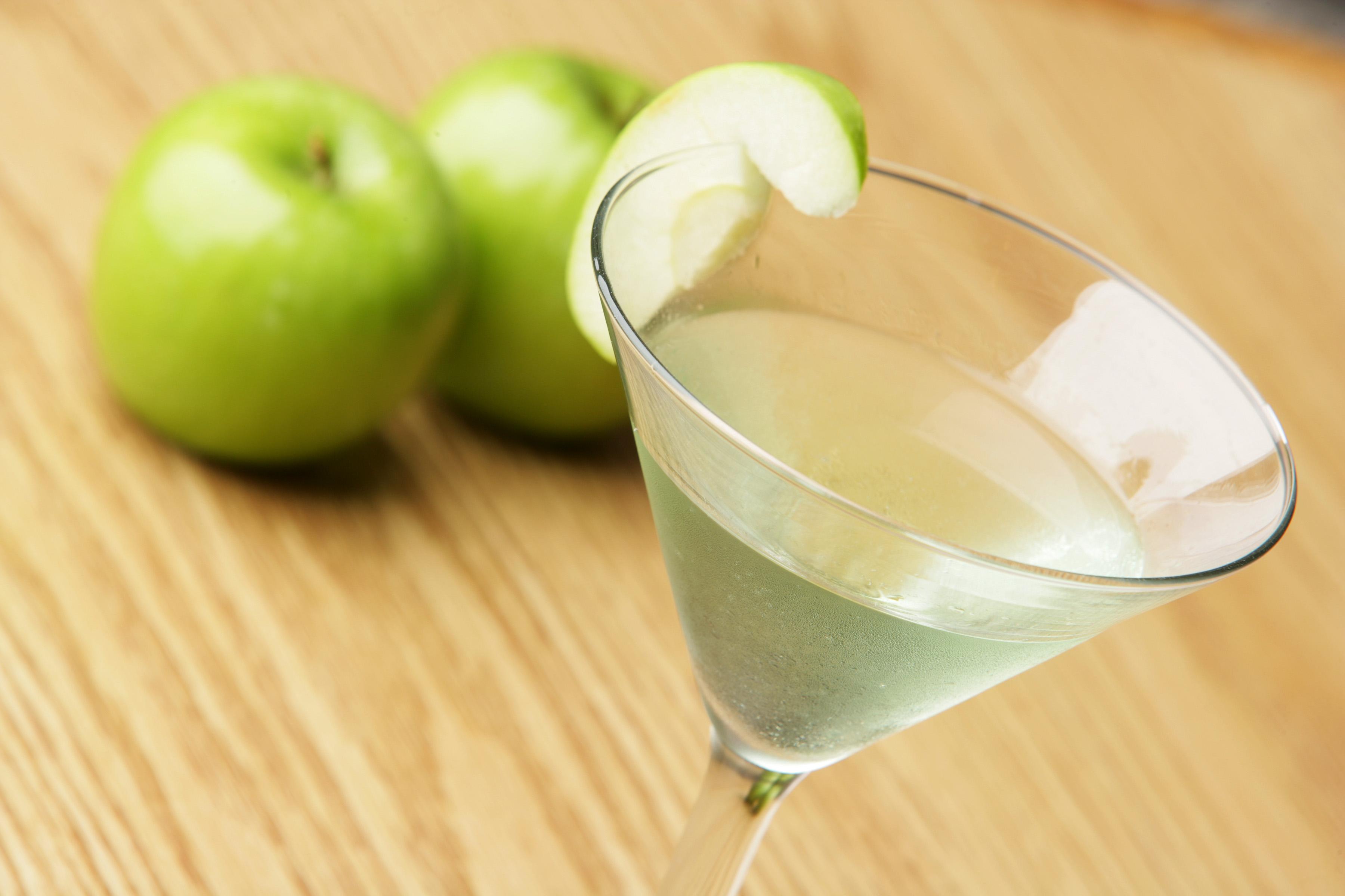 Canadian Apple Martini