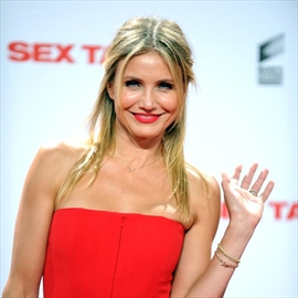 Cameron Diaz to wed in early 2015-Image1
