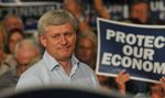Stephen Harper Rally In Peterborough