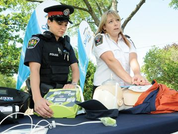 Taking lifesaving to heart in Innisfil with new defibrillators