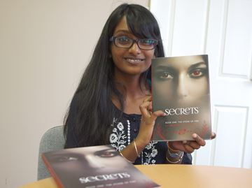 Alliston teen publishes book