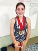 Five gold medals at Oshawa meet for young swimmer