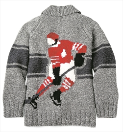 Hockey Knitting Patterns : New sweater line knits together Roots, Mary Maxim brands