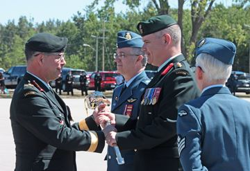 New commander takes charge at CFB Borden