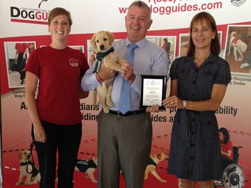 Paw-sitive boost for Oakville's Lions Foundation of Canada Dog Guides
