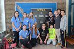 Collingwood football alumni donates scoreboard to local school