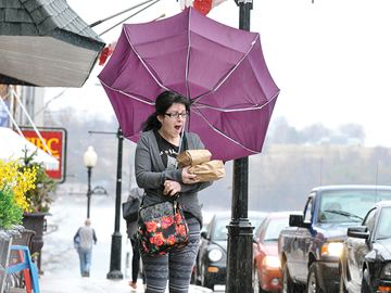 Extreme weather forecast for Scugog