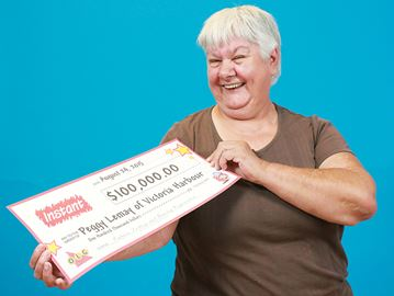 Victoria Harbour woman wins $100,000 prize