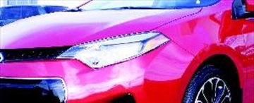 Corolla morphs into slightly larger and more muscular looking vehicle– Image 1