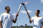Darnell and Kia Nurse torchbearers