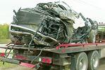 Driver hurt in single-vehicle crash in Midland