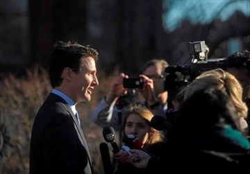 The Liberal government will introduce legislation Tuesday to expunge the criminal records of Canadians previously convicted of consensual sexual activity with same-sex partners. Prime Minister Justin Trudeau takes questions from the media outside the Confederation Centre of the Arts in Charlottetown, P.E.I., on Thursday, Nov 23, 2017. THE CANADIAN PRESS/Nathan Rochford