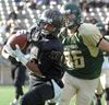 Knights crush Gryphons in Golden Horseshoe Bowl