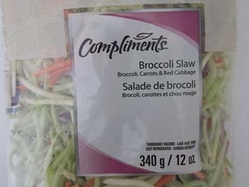 Compliments brand Broccoli Slaw