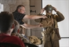 VIDEO: Students learn grim truth of life in WWI trenches