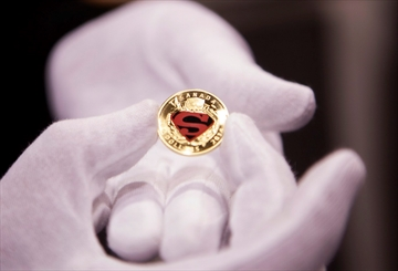 Mint unveils new Superman coin collection-Image1