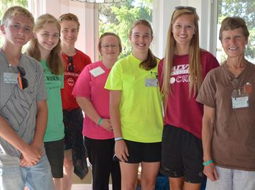 U.S. teens on a mission to help at Watedown's Drummond House