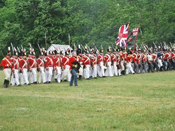 Re-enactment of the Battle of Stoney Creek