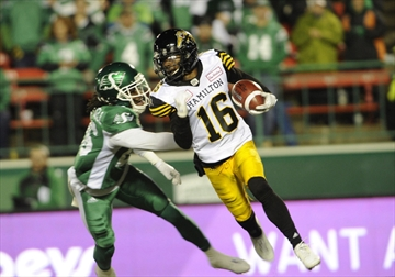 Brandon Banks will be back with the Tiger-Cats in 2017, after agreeing to a pay cut.
