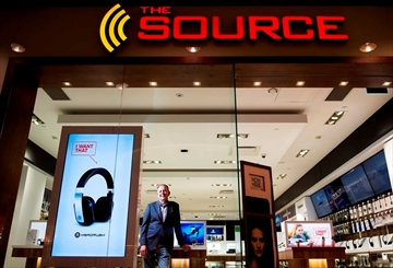 Charles Brown, president of The Source, poses for a photo at one of the chain's locations in Toronto on Monday, June 19, 2017. THE CANADIAN PRESS/Nathan Denette
