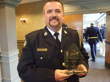 OPP names officer of the year during Orillia-area event