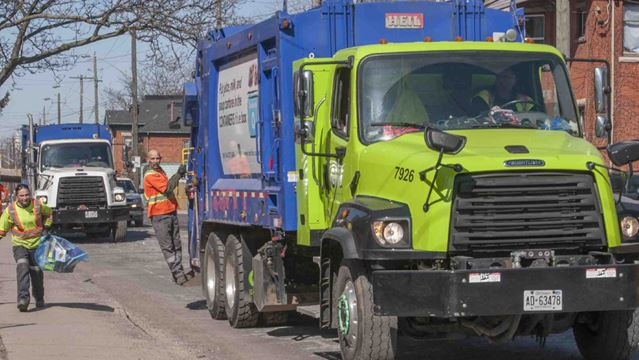 Garbage Pick Up : Trash should city pick up once every two weeks