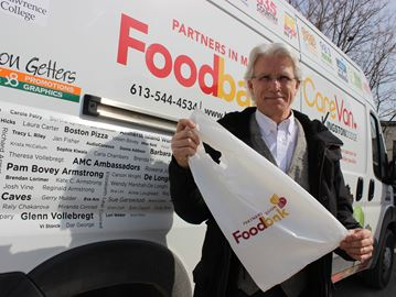 Partners in Mission Food Bank Executive Director Sandy Singers