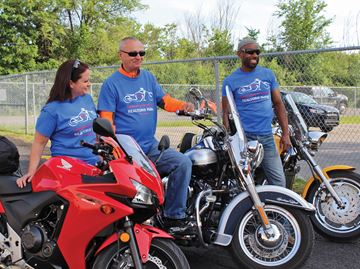 Realtors hit the highway on charity motorcycle ride