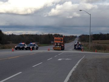 Highway 9 closed for serious crash