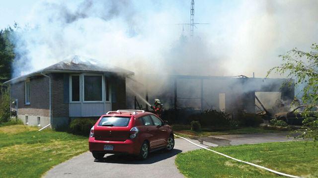 Newtonville fire