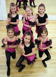 Tiny talent on tap from Happy Feet Dance