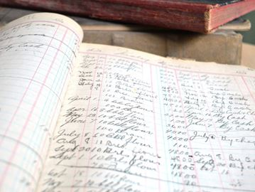 Historic journals recovered from Utopia gristmill
