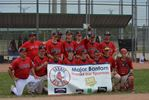 Barrie Major Bantam Red Sox are champions in Vaughan
