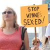 Sex ed protest in Oshawa