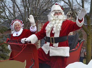 Santa and Mrs. Claus