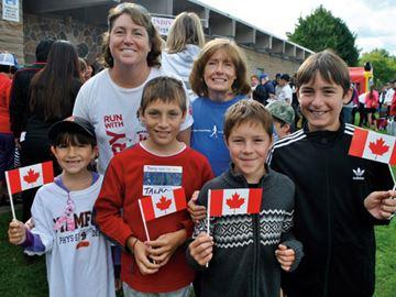 Terry Fox Run helps family and friends honour Gabriella Roberto's short life