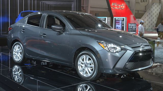Toyota Lexus And Scion Strut Their Stuff In New York Auto