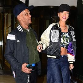 Rihanna's granddad crashes record label meeting-Image1