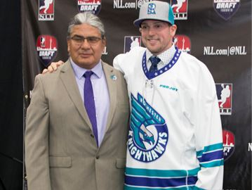Rochester selects Lomas in NLL draft