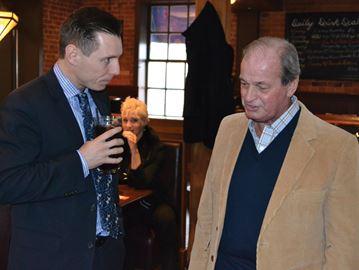 Patrick Brown talking PC leadership bid