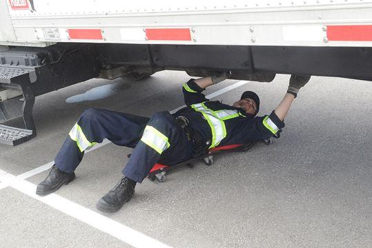 Commercial Motor Vehicle Blitz In Burlington