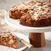 Apple almond rum cake easy and fragrant dessert