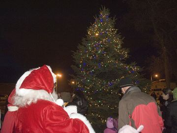 Bronte Village Tree Lighting at Centriller Square Saturday