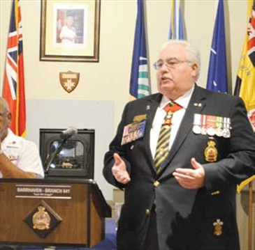 Legion raising money for Barrhaven cenotaph– Image 1