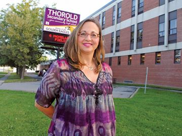 New Thorold Secondary principal impressed with school culture