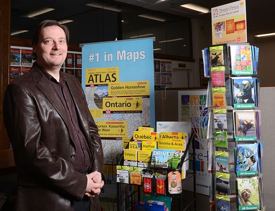 Oshawa's MapArt has helped Canadians navigate for 30 years